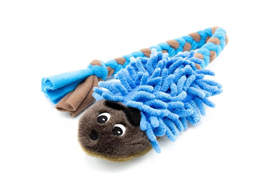 Hundespielzeug Plüsch Igel mit Mop