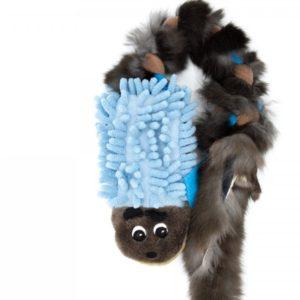 Hundespielzeug Igel Mop mit Fell