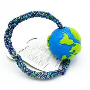 Worldball mit Schnur