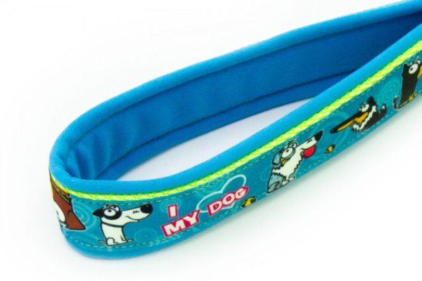 Borte I love my Dog blau