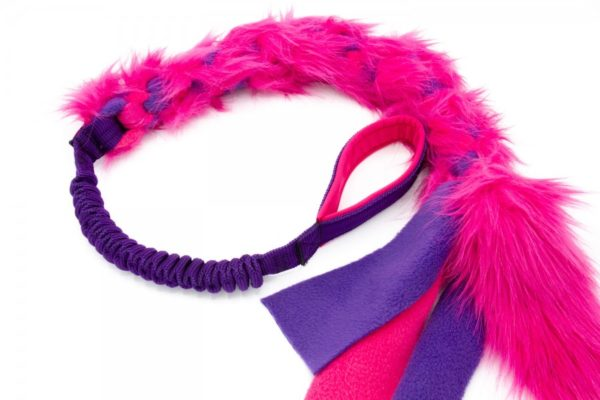 bungee fur fleece pink lila