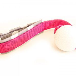 Hundespielzeug Planet Dog Golfball mit Handschlaufe
