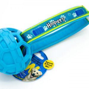 JW Hol-EE Squeakin Hundespielzeug in Blau