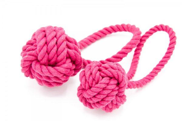 Hundespielzeug Knotenball