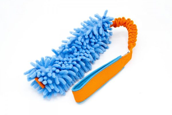 Hundespielzeug Mop an Bungee