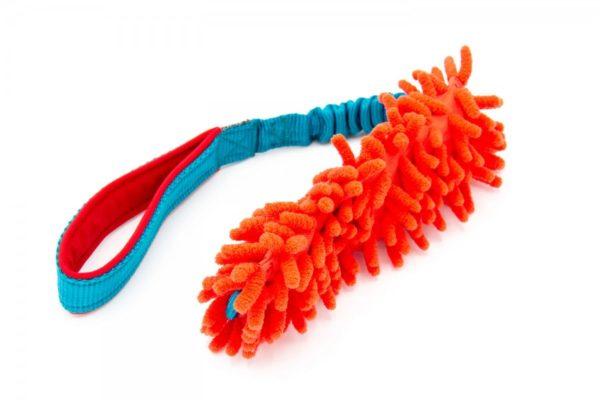 Hundespielzeug Mop mit Bungee