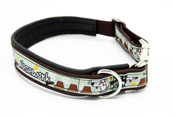 Hundehalsband Hundesport Nosework