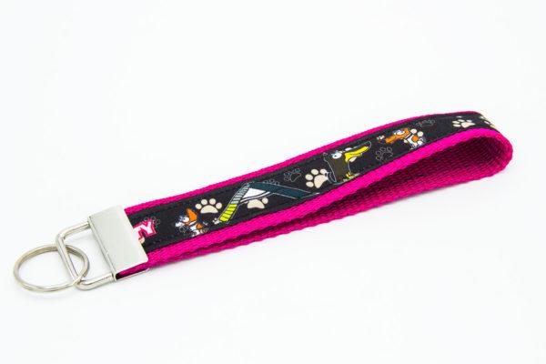 Schlüsselanhänger Agility Hundesport