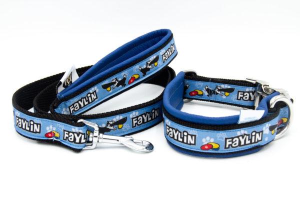Hundehalsband Dogfrisbee