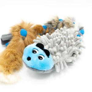 Ratte aus Mop mit Fell