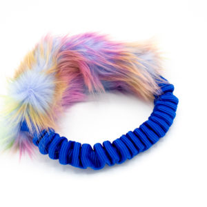Faux Fur Bungee Ring