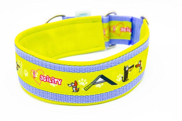 Hundehalsband Hundesport Agility