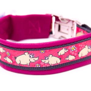 Hundehalsband Schweinchen