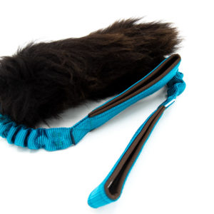 Double Handle Sheepskin Bungee Tug