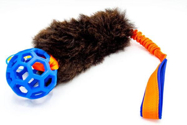 Sheepskin Bungee mit Gitterball