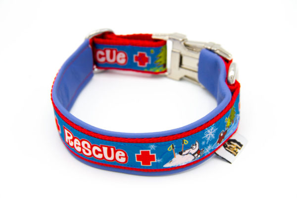 Hundehalsband Rettungshunde