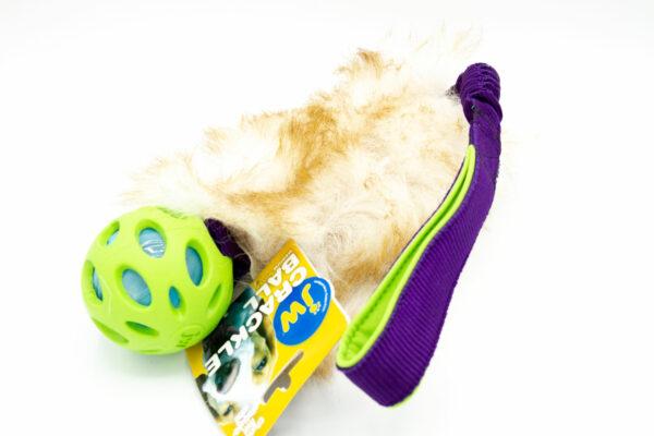 Sheepskin Tug mit Crackle Ball