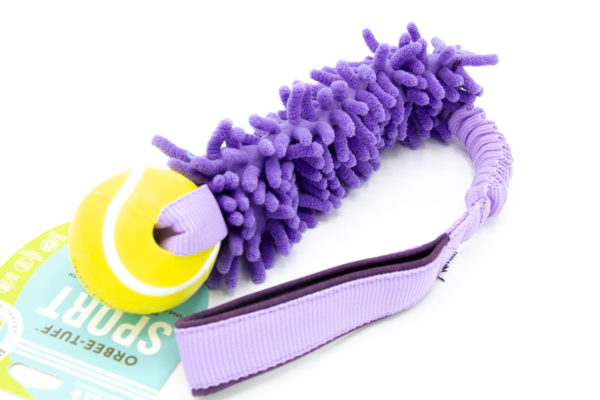 Mop Bungee mit Tennisball von Planet Dog