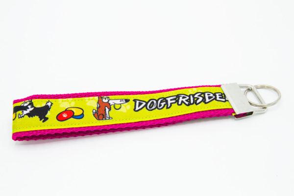 Schlüsselanhänger Dogfrisbee