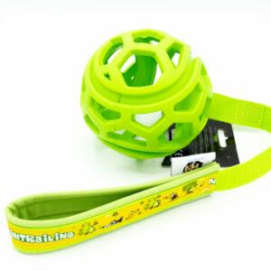 Dog Comets Titan Gitterball mit Handschlaufe