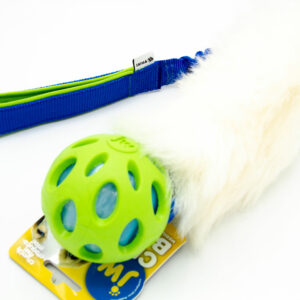 Sheepskin Tug mit Crackle Ball