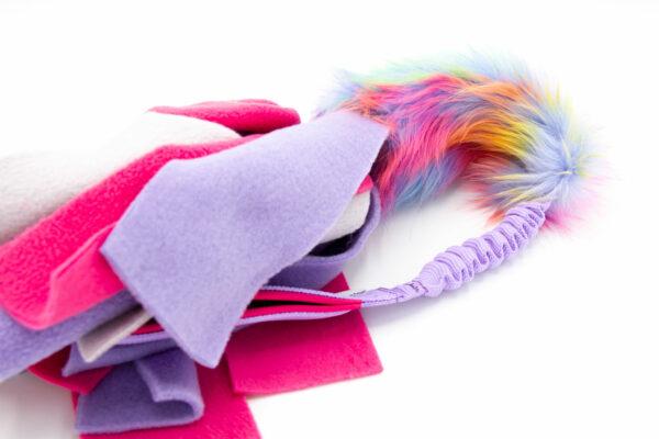 Faux Fur Bungee Fleece