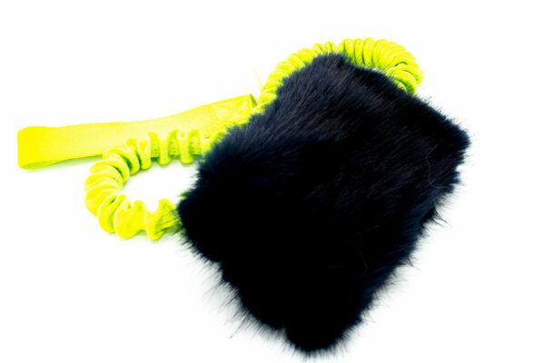 Treat Chaser Tug Fake Fur