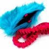 Bungee Treat Chaser Tug Fake Fur XL